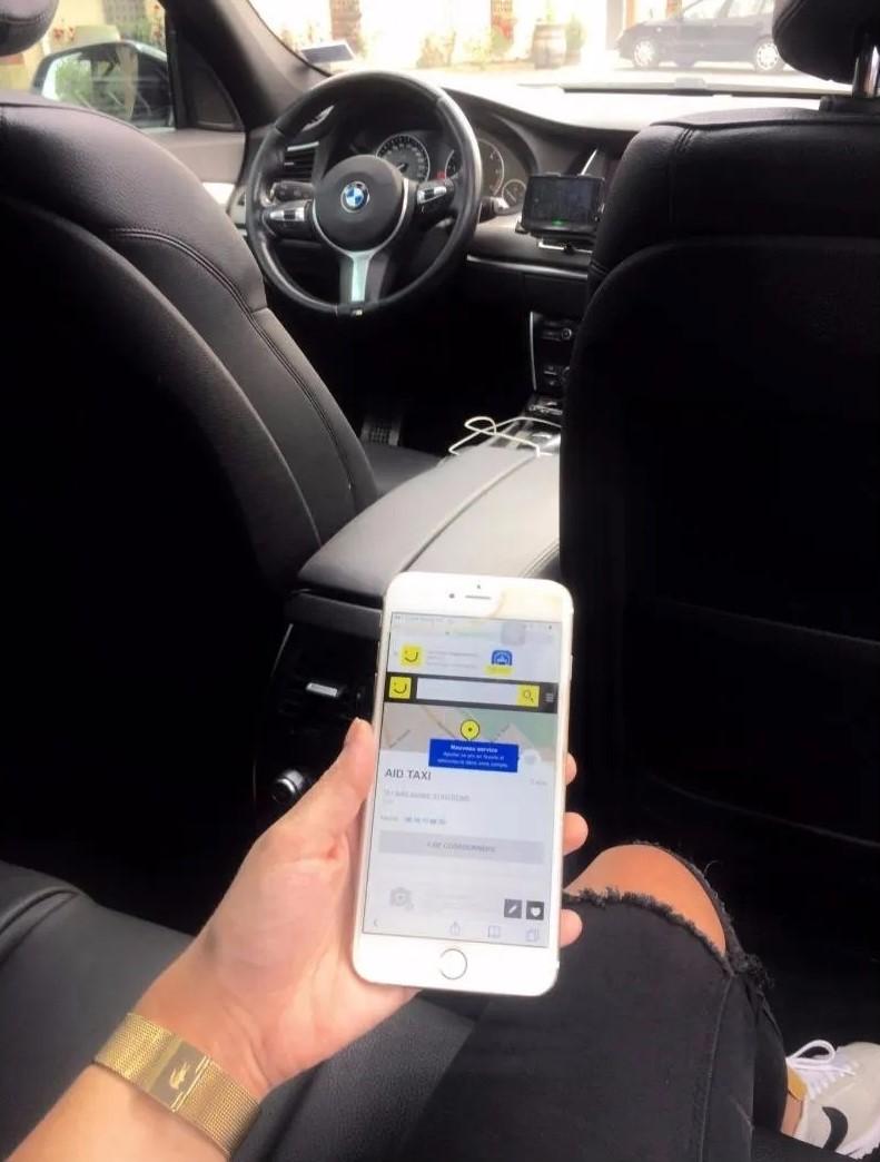 Un moyen de transport rapide et ponctuel sur Reims (51)   AID Taxi